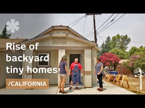 Can backyard tiny homes solve CA's affordable housing need?
