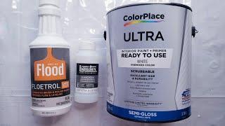 3 Ways 1 Technique. Floetrol Vs Pouring Medium Vs House Paints. Exploring The Why's & How's