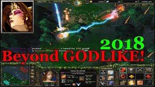 Warcraft DOTA - Lina BEYOND GODLIKE   2018