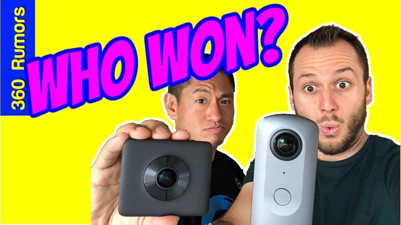 Ricoh Theta V vs  Xiaomi Mi Sphere HDR comparison: Best 360