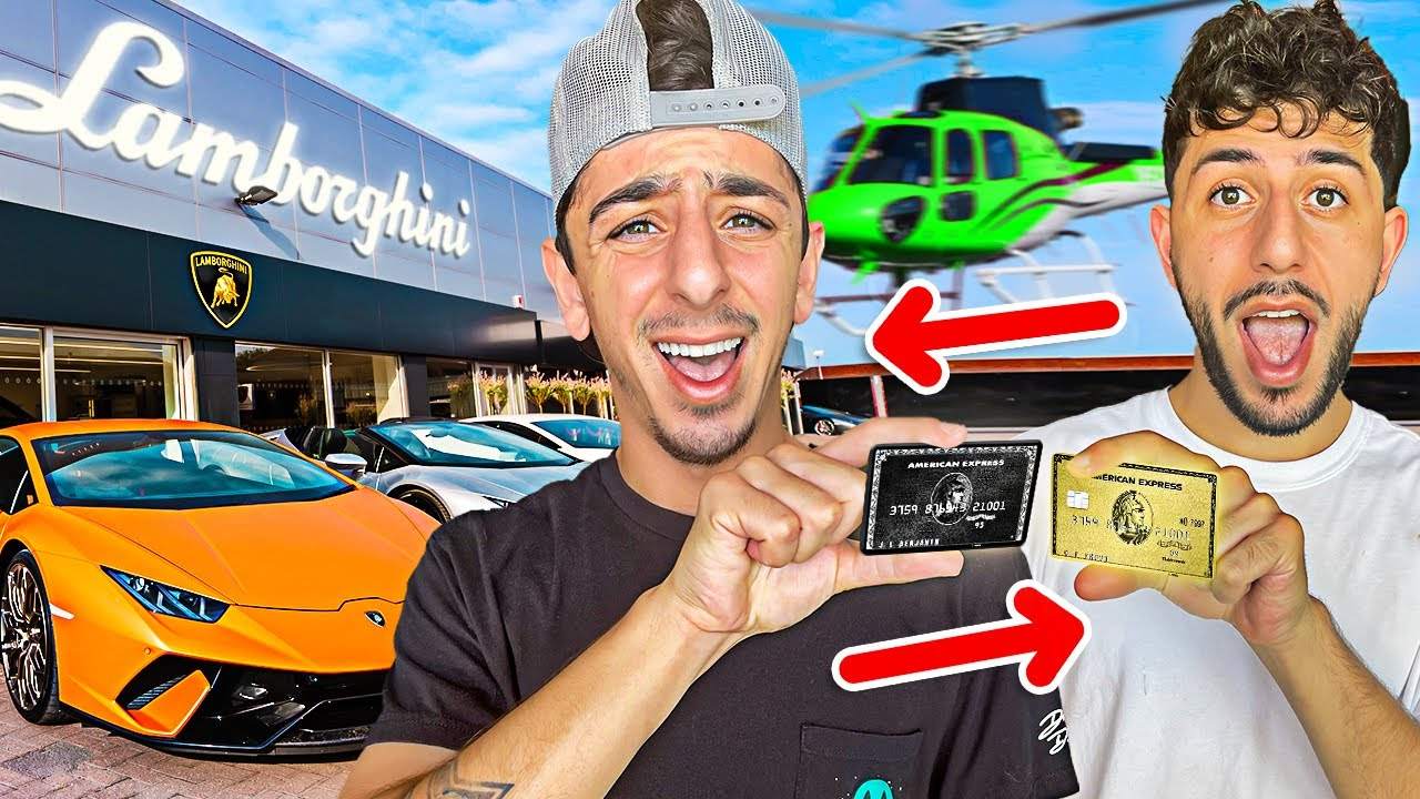 Switching Credit Cards with my Sibling! ** NO LIMITATION ** thumbnail