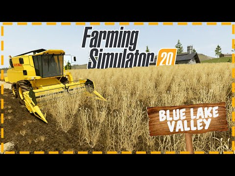 Farming Simulator 20 | FS 20 Map: Blue Lake Valley | Map Overview New Screenshots | Animals
