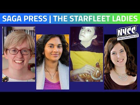 Saga Press  | All the Starfleet Ladies - Then & Now