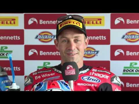 2019 Bennetts BSB Round 9, Oulton Park, post race one press conference