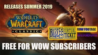 Blizzcon 2018 Day 2 World of Warcraft Classic Q&A RAW