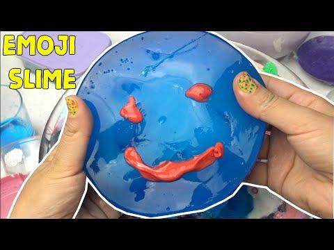 Çöplük Slime İçinden Emoji Slime Çıktı! Mixing All Slime KoleksiyonuTamiri #part2 Bidünya Oyuncak