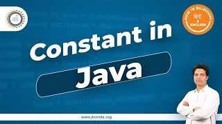 How to declare Constant in Java by Som Sir