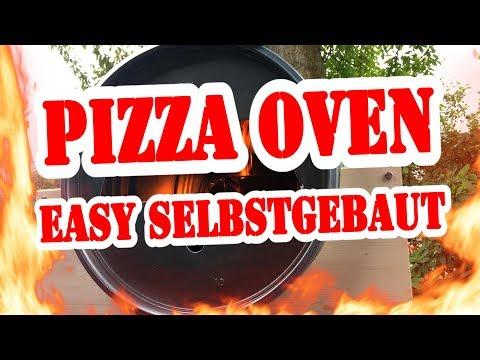 Pizza Ofen SELBSTGEBAUT!!!! Ganz einfach !!!- BBQ Grill Rezept Video - Die Grillshow 323