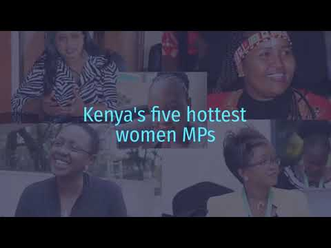 Five hottest women MPs in Kenya