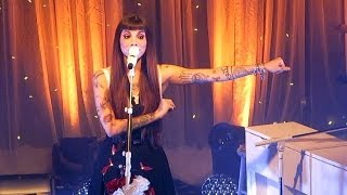 Christina Perri - 'Lollipop' / 'Lonely Child' Live St. Pete, FL
