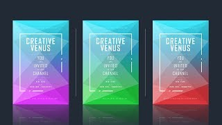 How To Create A Poster, Brochure, Invitation, Template Design In Microsoft Office 365 PowerPoint PPT