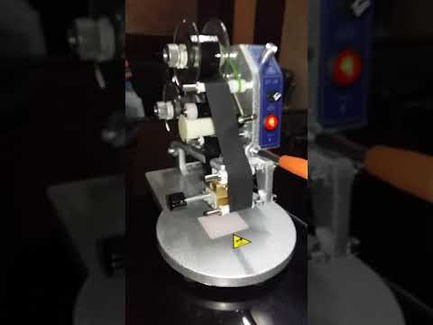 Manual Ribbon Hot Code Printer