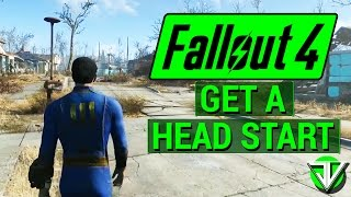 FALLOUT 4: How To Get a MASSIVE HEAD START in Fallout 4! (Hit Level 10 in Less Than 30 Minutes!)