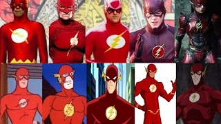 Flash - Evolution in TV & movies