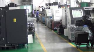 preview picture of video 'TS16949 / QS9000 CNC Machining - Precision Machine Room at Ningbo Xusheng Die Castings USA'