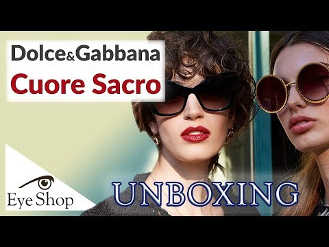 Dolce Gabbana Cuore Sacro, sunglasses 2019 REVIEW