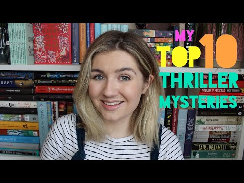 My Top 10 Favourite Thriller Mystery Books