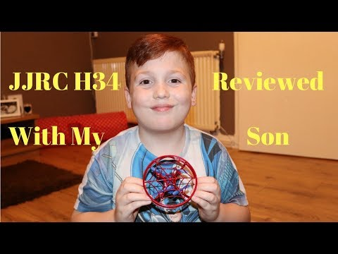 JJRC H34 Spiderman Gravity Sensor Quadcopter Review And Test Flight