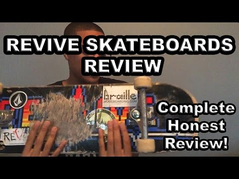 REVIVE SKATEBOARDS REVIEW!! | HONEST REVIEW
