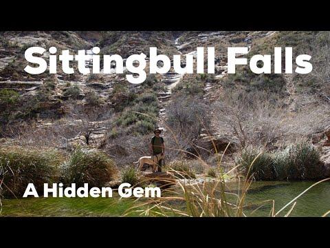 Sitting Bull Falls in New Mexico