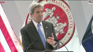 Kerry Issues Dire Climate Change Warning