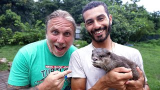 I'M GETTING AN OTTER!! Blakes Exotic Animal ranch!!   BRIAN BARCZYK