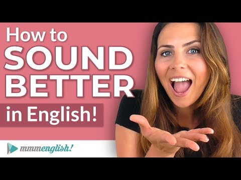 How to SOUND Better in English! | Pronunciation Lesson - YouTube
