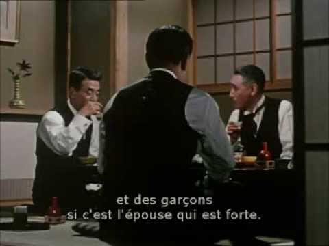 Fleurs d'équinoxe de Yasujiro Ozu : extrait 1