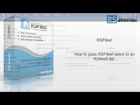 Ep. 71: How to pass RSFiles! users to an RSMail! subscribers list