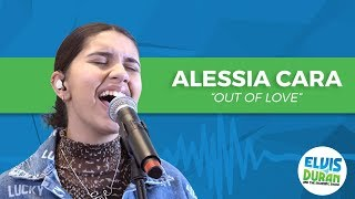 """Alessia Cara   """"Out Of Love"""" Acoustic   Elvis Duran Live"""