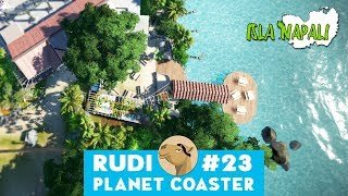 Isla Napali - Planet Coaster | Hyper Realistic Park & UGC Beach Restaurant finishing