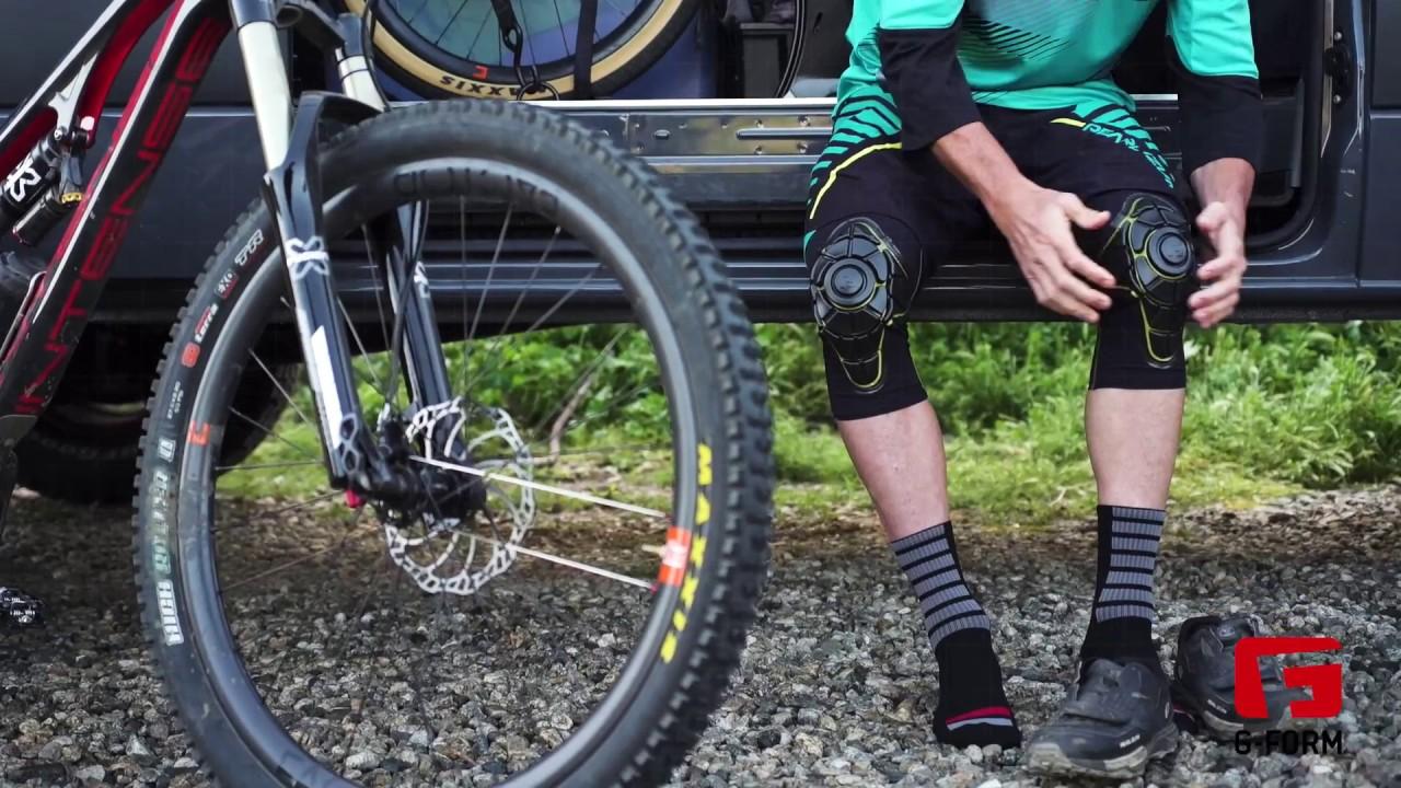 G-Form Unisex Mountain Bike Knee Pads Pro-X X-Large Black