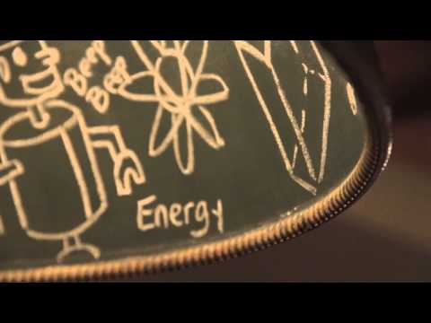 Video for Relativity Salvage Zinc Five-Light Extra Large Pendant with Chalkboard Interior