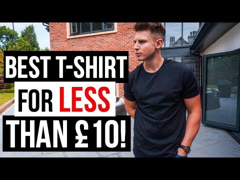 Best Men's T-Shirt For LESS Than £10! (Bershka, Asos, Jack & Jones, River Island, New Look Man)