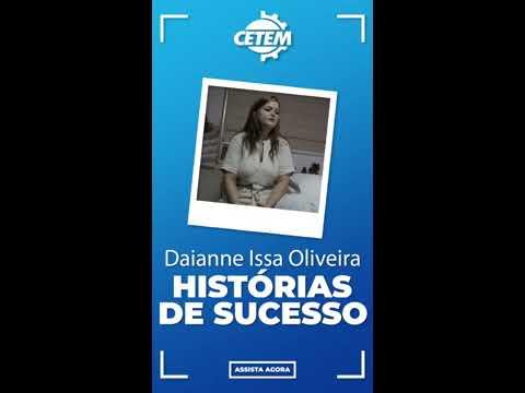 CETEM - Histórias de Sucesso: Daianne I. Oliveira