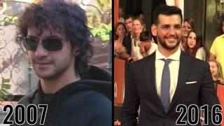 Fran Perea, Yon González y Mario Casas, cómo han cambiado