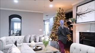 CHRISTMAS 2018 | LIVING CHRISTMAS TREES ARE UP + TRY ON HAUL THREDUP