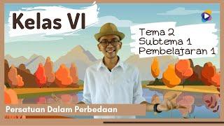 Kelas 6 Tema 2 Subtema 1 PB 1