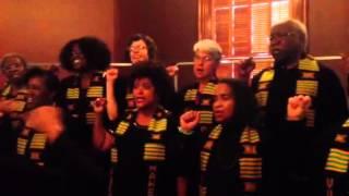Vukani Mawethu Choir at Crocker Art Museum celebrating Black History month