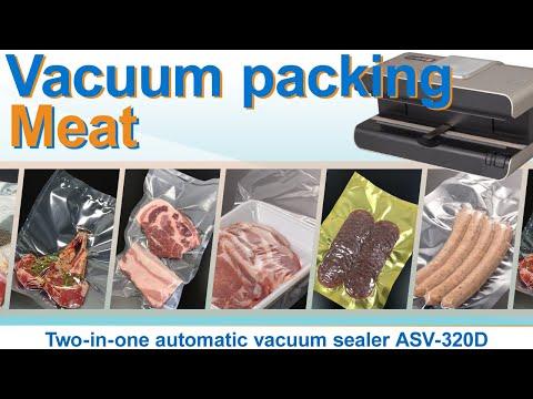 Vacuum packing / Meat