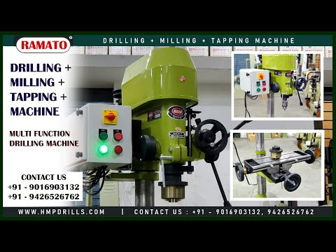 Vertical Drilling Cum Milling Machine
