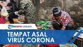Penampakan Pasar di Wuhan yang Jadi Tempat Virus Corona Berasal