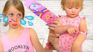 Alicia  & Les BOO BOO Story De Melissa- Video For Toddler