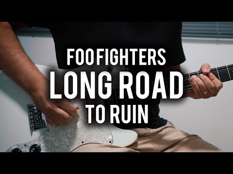 Foo Fighters - Long Road to Ruin - Guitar Cover - Fender Chris Shiflett Telecaster Deluxe