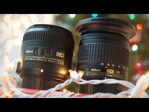 Black Friday / Holiday Specials - Nikon Landscape & Macro Lens Kit