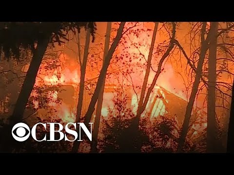 fires ablaze throughout California dozens dead