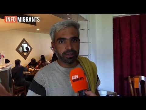 غذای رایگان برای پناهجویان در بوسنیا هرزگوینا