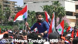 What Syrians Think About The U.S.'s Military Strikes (HBO) - Video Youtube