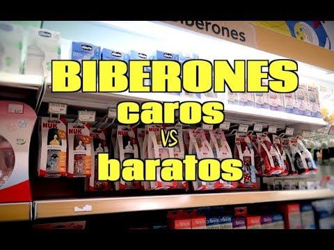 BIBERON CARO VS BARATO | NURYCALVO Y SU FAMILIA | VLOG FAMILIAR