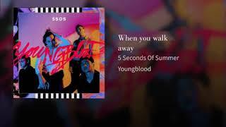 5 Seconds Of Summer- When you walk away (Target Audio)